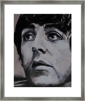 Mccartneys Eyes Framed Print by Eric Dee