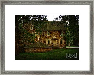 Framed Print featuring the photograph Mcconkey's Ferry Inn by Debra Fedchin