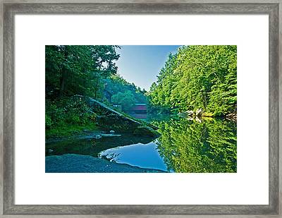 Mcconnell Mills Wat 238 Framed Print by G L Sarti