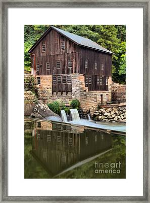 Mcconnells Mill Reflections Framed Print