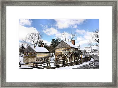 Mccormick Farm 3 Framed Print by Todd Hostetter