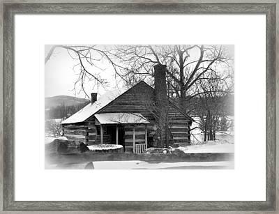 Mccormick Farm 4 Framed Print by Todd Hostetter