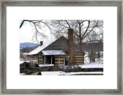 Mccormick Farm 5 Framed Print by Todd Hostetter
