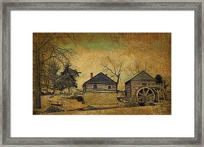 Mccormick Farm 6 Framed Print by Todd Hostetter