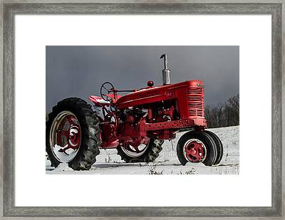 Mccormick Farmall 2 Framed Print by Anthony Thomas