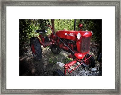 Mccormick Farmall Framed Print