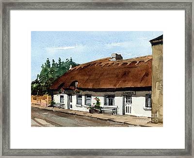 Mcdonaghs Pub  Oranmore Galway Framed Print