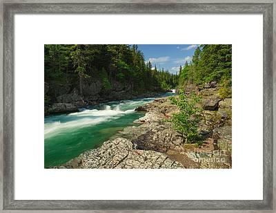 Mcdonald Creek Framed Print by Charles Kozierok