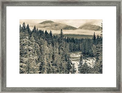 Mcdonald Creek Horizontal Framed Print