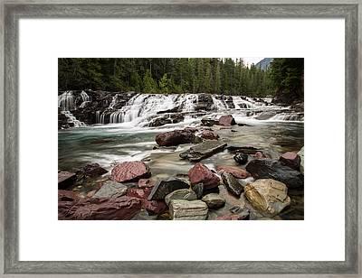 Mcdonald Creek Framed Print