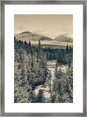 Mcdonald Creek Vertical Framed Print