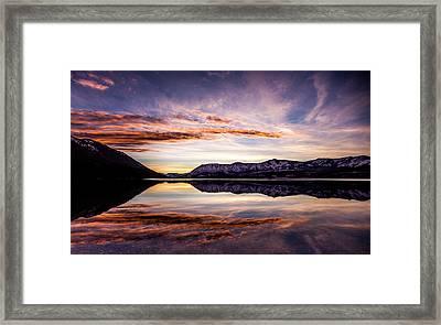 Mcdonald Palette Framed Print by Aaron Aldrich