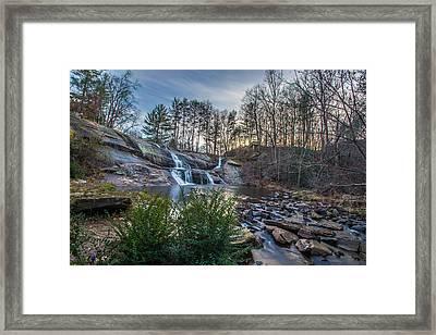 Mcgalliard Falls Wide View Framed Print by Randy Scherkenbach