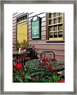 Mcgarvey's Saloon And Oyster Bar Framed Print