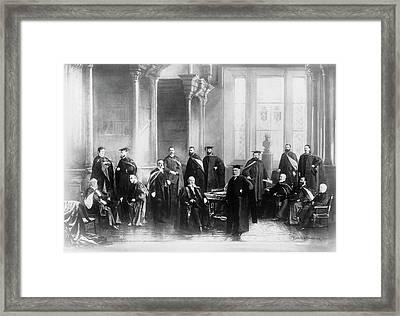 Mcgill University's Medical Faculty Framed Print by National Library Of Medicine