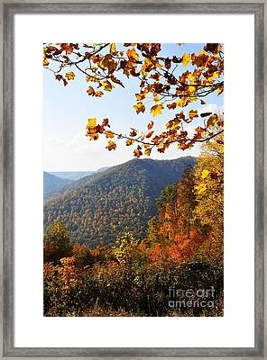 Mcguire Mountain Overlook Framed Print by Thomas R Fletcher