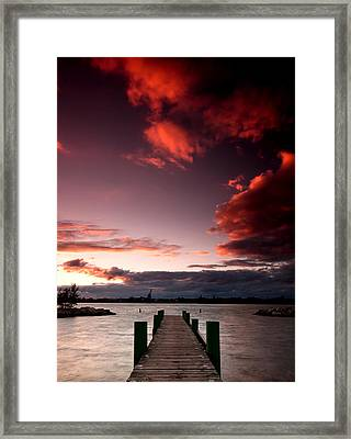 Mckee Sunset Two Framed Print