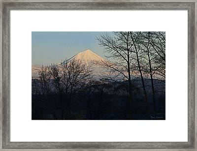 Mclaughlin Late Winter Day Framed Print by Mick Anderson