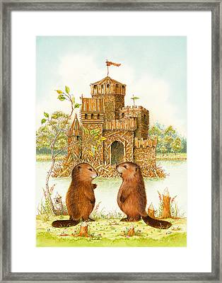Mclodge Framed Print by Lynn Bywaters
