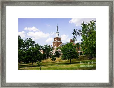 Mcmicken College At University Of Cincinnati  Framed Print by Paul Velgos