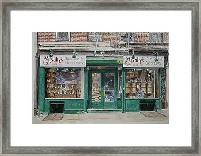 Mcnultys Coffee Framed Print by Anthony Butera