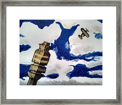 Mco Tower Framed Print by Jesse Johnson
