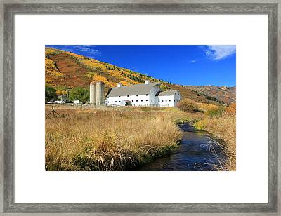 Mcpolin Barn Framed Print