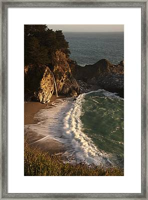 Framed Print featuring the photograph Mcway Falls 2 by Lee Kirchhevel