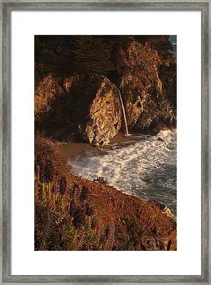 Framed Print featuring the photograph Mcway Falls 4 by Lee Kirchhevel