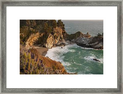Framed Print featuring the photograph Mcway Falls 5 by Lee Kirchhevel