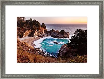 Mcway Falls Framed Print by Alexis Birkill