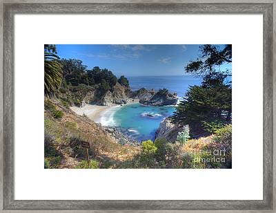 Mcway Falls Framed Print by Marco Crupi