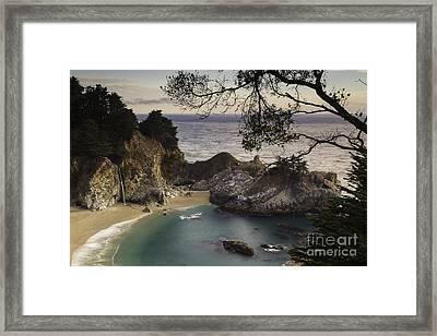 Mcway Falls Framed Print by Michele Steffey