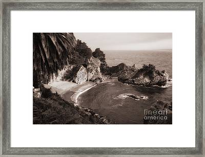 Mcway Falls Framed Print