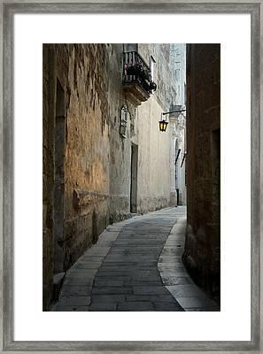 Mdina-malta Framed Print