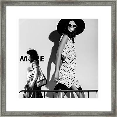 Me And My Expectations Framed Print by Bobby Kostadinov