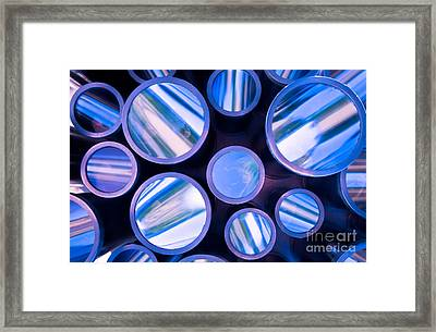 Framed Print featuring the photograph Me And The Kaleidoscope by Jonathan Nguyen