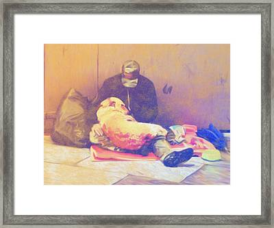 Me And You Framed Print by Dennis Buckman