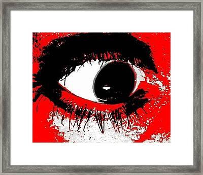 Me Myself And Eye Framed Print
