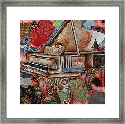 Me The Piano Framed Print