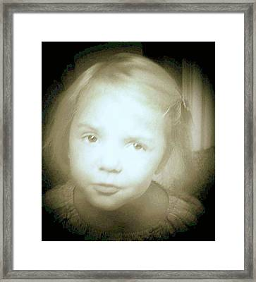 Framed Print featuring the photograph Me Too by Shirley Moravec