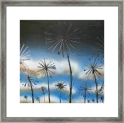Meadow At Dawn Framed Print