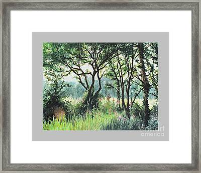 Meadow Framed Print by Caroline Beaumont