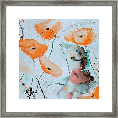 Meadow Children Framed Print