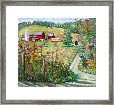 Meadow Farm Framed Print