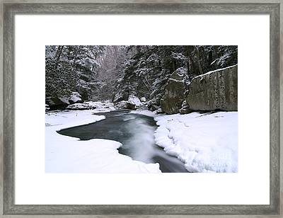 Meadow Run In Ohiopyle Pennsylvania Framed Print