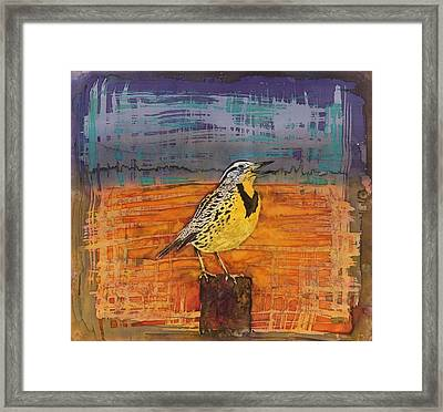 Meadows Song Framed Print