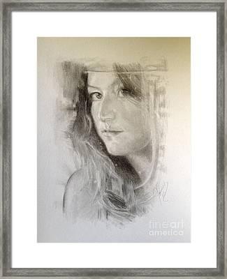 Meagan Framed Print