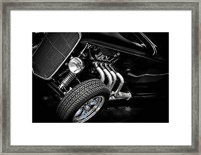 Framed Print featuring the photograph Mean Machine Classic by Aaron Berg