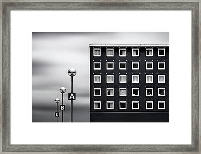 Meaningful Cells Framed Print